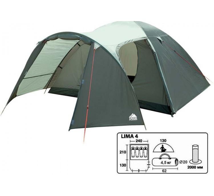 Палатка Lima-4